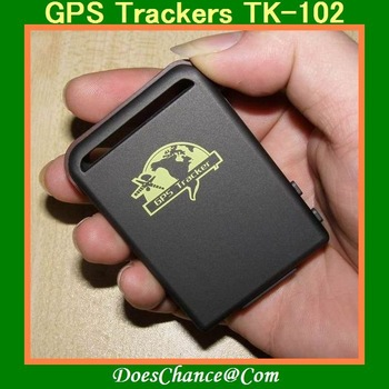 2011 Upgrade GPS Trackers TK-102, Mini Global Real Time 4 bands GSM/GPRS/GPS Tracking Device(drop shipping supported)