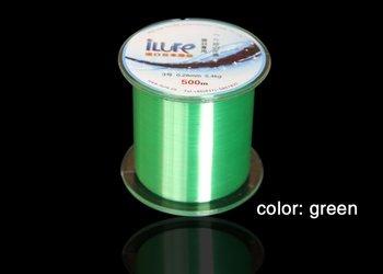 500 meters fishing line/five colors available/Nylon line/monofilament line