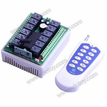 RF Wireless Remote Control Radio Controller / Switch 12