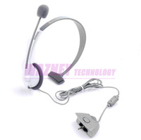 320pcs/lot* New LIVE HEADSET + MIC For XBOX 360 WIRELESS CONTROLLER,Earphone Headset headphone+ microphone For XBOX 360 LIVE