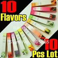 NEW FREE SHIP 10 Pcs/Lot 10 FLAVORS CUTICLE REVITALIZE OIL PEN MIX TASTE NAIL ART TREATMENT KIT SET