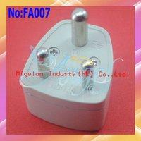 100pcs/lot Universal AU/EU/US TO ZAF South Africa Travel Electrical Power Adapter Plug US UK AU EU Travel Plug Adapter #FA007