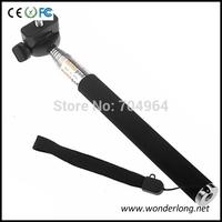 Extendable Handheld Aluminum Alloy Flexible Telescopic Monopod Tripod Holder for Go Pro HD Hero1 2 3 Carmera