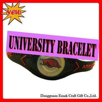 Environmental protection bio magnetic bracelet-ARKANSAS-RAZORBACKS