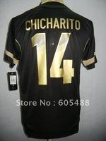 Free shipping ! 11-13 Mexico away #14 CHICHARITO soccer shirt,Mexico black CHICHARITO soccer jerseys