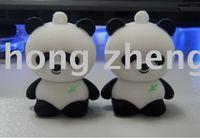 1pcs free dropshipping panda U USB flash disk 4G 8GB Flash Memory Drive U-Disk