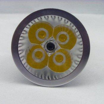 4W LED Lamp Energy Saving Down Light Bulb 86-246V White / Warm White E27 GU10 E14 For Choose