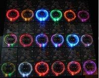 240pcs=120 Pairs  2011 New Arrival Three Flash modes 15Colors LED flashing shoelace super bright Novel Gift led shoelace