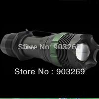 Mai Free+ 1PC  SA-9 Flashlight 250 Lumens 7W CREE Q5 LED Torch Focusable  Aluminum Zoomable Mini Flashlight