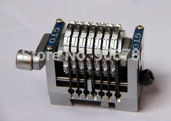 7digit straight type numbering machine for GTO