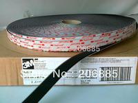 "100% Original 3M SJ3551 400 Black Dual Lock self adhesive Velcro Tape 1""*50yard *2rolls"