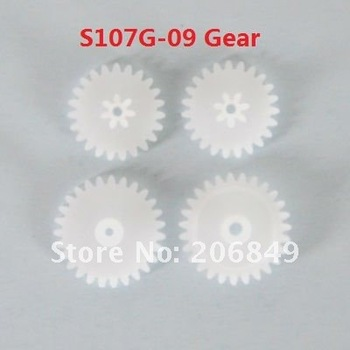 5 SETS Free shipping S107G-09 Gear spare parts for 22cm S107G SYMA 3ch Gyro R/C Mini Helicopter RC plane S107