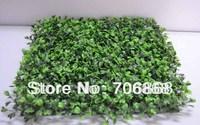 HOT SALE UV PROTECTED Artificial plastic boxwood grass mat 25cm*25cm