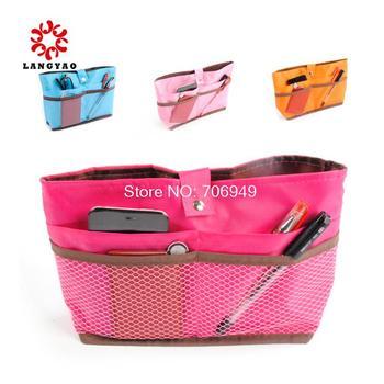 1pc New 2014 Women Handbag Cosmetic Storage Bag Multi B-functional Travel Bags Handbags -- BIB25