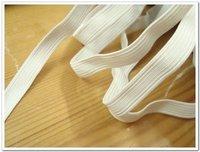1cm width ,white ,elastic band,elastic webbing, MOQ is 100M,FREE SHIPPING