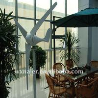 free shipping 100w small horizontal wind turbine generator wind energy