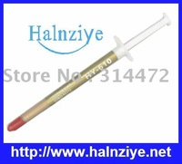 Halnziye 500pcs/lot Syringe 1gram HY610  thermal compound for CPU/LED via EMS shipping