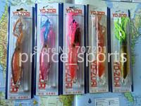 New Arrieval 5pcs/lot  Squirt Octopus Skirt Trolling Bait Baites Fishing Lures 235mm 40g VMC Hooks