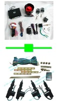 1 pcs one way car alarm L-3000 4 button remote range:100 meter + 1 pcs central lock TLT-4D-111-W