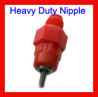 FREE EXPRESS SHIPPING! 300 pcs/lot AUTOMATIC CHICKEN WATER SCREW IN POULTRY NIPPLE DRINKER 4 FOWL