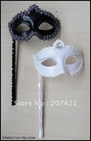 Little princess hand-held mask--Party/ Masquerade/ ball/ wedding masks, 2 colors halloween mask Free 25shipping pcs/lot