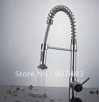 Free shipping wholesale single lever centerset pull out spray faucet for kitchen sink mixer tap 5308
