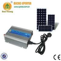 22-60Vdc wide input 230Vac output 50/60Hz auto adjust mppt control grid tie pure sine wave micro inverter 500w power supplies