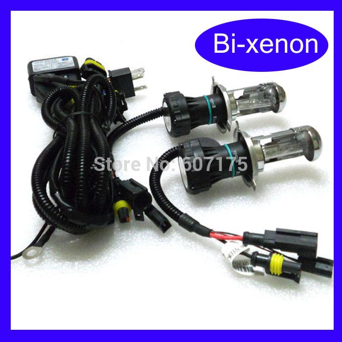 wholesales 12V AC Car Auto hid bulb H4-3 Bi Xenon h4 Hi Lo Beam Light Replacement lamp H4/h13/9004/9007 free shipping(China (Mainland))