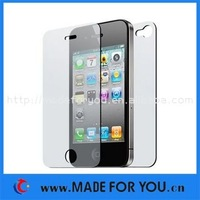 Wholesale Full Body Screen Protector For Iphone 4G(SP-I001) 1000pcs/lot(500pcs Front+500pcs Back) Without Retail Package