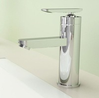 Free Shipping!100% new.Single Handle bathroom Basin sink faucet .hot and cold water mix taps