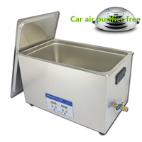 free shipping rustless steel ultrasonic research institute cleaner