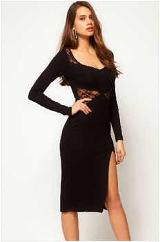 FREE SHIPPING! Hot sale! New arrival.sexy party dress, fashion ladies dress, unused,size M,GLB5172,black