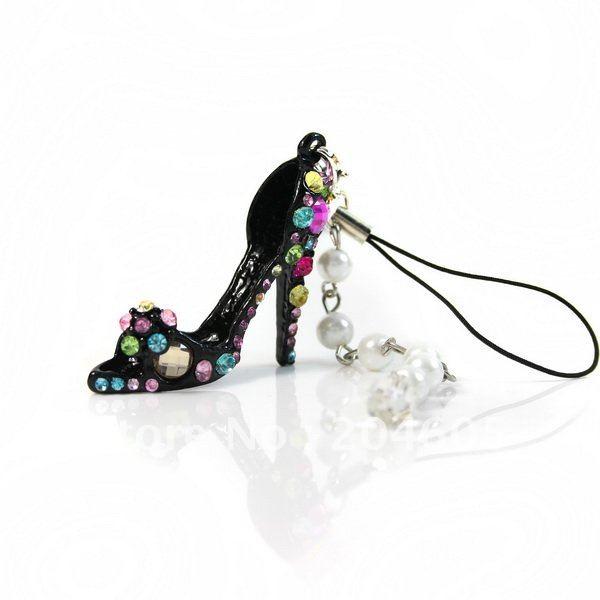 Free shipping 10 pcs Crystal High-heel
