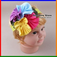 Sunshine store #2B1980 30pcs/lot (43 styles) TOP BABY Headband!! Baby beautiful headwear and TODDLER Cotton flower hairband CPAM