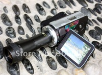 HD 1080P 16MP digital video camera with 3.0inch TFT LCD Screen, 9X optical zoom  telescope and 8X digital zoom