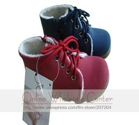 Wholesale 2011 Newest Children Snow Leather Boots Baby Shoes