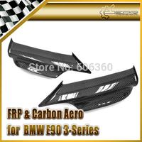 For BMW E90 3 Series 05-08 Carbon Fiber M-Tech Front Lip 2 Pcs