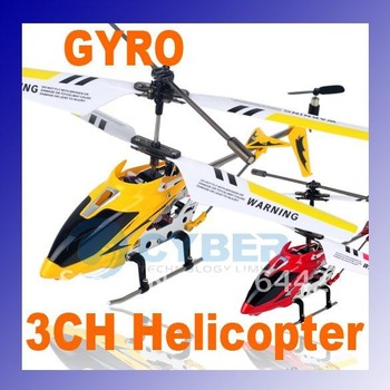 Metal 3CH RC Helicopter,Remote Control Helicopter,Gyro Toy