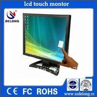 "touch panel 1year warranty!! 15"" lcd touchscreen monitor, lcd display panel,POS monitor touchscreen"