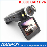 "Car Black Box Car DVR K3000 With 2.7"" LCD with 130 degree view range 1080p 30FPS +Night VisionFree shipping"