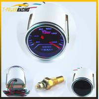 "2""(52mm) Smoke Lens Pointer Water Temperature Temp Gauge /Auto meter/Auto gauge/Tachometer/Car Meter/Racing Meter"