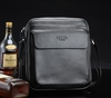 Free shipping/man's shoulder bag/msb053/Genuine leather/messenger bag/retail or wholesale