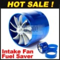 Brand new Supercharger F1-Z Air Intake Tornado Turbo Dual Fan Gas Fuel Saver Fan with Double Propeller Free ship