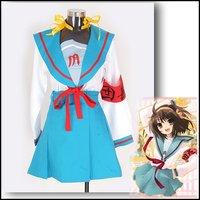 Free Shipping [suzumiya haruhi ] Anime Costumes, Cheap Animation sexy Cosplay Apparel  Fancy Dress Hot selling