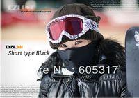 Free shipping  Neoprene Neck Warm Half Face Mask  black Winter Veil For  Sport Bike Motorcycle Ski
