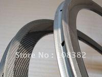 carbon tubular bicycle rims 38mm,3k matte finish