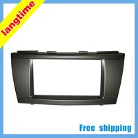Free shipping-Car refitting DVD frame,DVD panel,Dash Kit,Fascia,Radio Frame,Audio frame for Toyota Camry 2006,2DIN