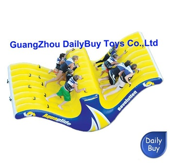 WS25 DHL & 0.9mm PVC 16.5'L*8'W*6'H  5mL*2.5mW*1.8mH   Inflatable Water Slide /water games  Wholesale 100% positive feedback