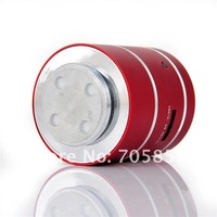 Freeshipping Original Dwarf 5W Protable Vibration Speaker loundly, battery+support TF+low+good quality+hot selling