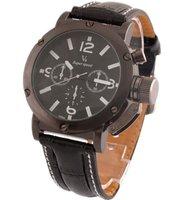 Free Ship Mens Sports watch fashion watch Japan Mov  Black Band Black Dial Sports Wristwatch  watch Xmas Gift